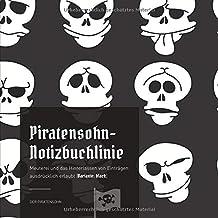 Piratensohn-Notizbuchlinie: Meuterei und das Hinterlassen von Einträgen ausdrücklich erlaubt (Variante: black)
