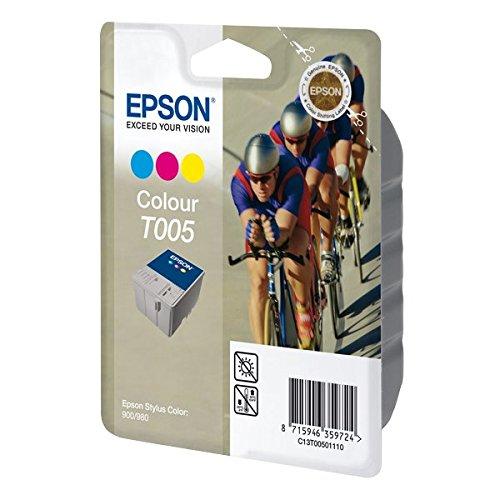 Epson T005 Cartouche d'encre d'origine 3 couleurs pour Stylus Color 900 980