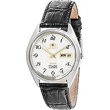 Orient Reloj Analógico para Mujer de Automático con Correa en Cuero FAB0000LW9