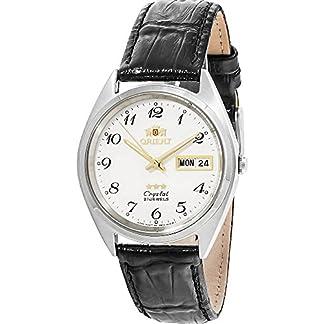 Orient Reloj Analógico para Unisex Adultos de Automático con Correa en Cuero FAB0000LW9