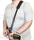 Clearwater Sangle pour guitare acoustique ou électrique?Idéal pour manodlins Corps Solide Ukes mandocasters etc.. Longueur réglable Slimline Sangle avec rembourrage pour épaule