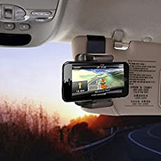AST Works Car Sun Visor Rearview Mirror Mount Holder Stand for PDA GPS Phone Camera DVR