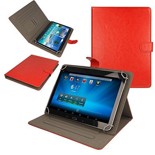 TECHGEAR CASE-UNI.10 Blaupunkt Tablet-Schutzhülle, Blaupunkt 1000, rot - rot