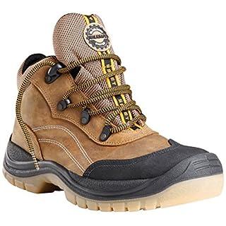Blakläder Sicherheitsschuhe Arbeitsschuhe hoch S3 2305, Farbe:braun;Schuhgröße:41 (UK 7)