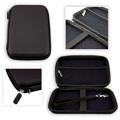 caseroxx GPS-Case EasySMX 84H-3 GPS Navigator Étui/Coque de transport en noir (Étui/Coque de coloris noir)