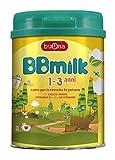 BBmilk 1-3 anni polvere - Latte di crescita in polvere - Formulato per bambini da 1 a 3 anni di età - 750 g