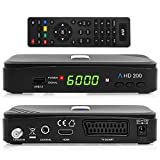 Anadol HD 200 HDTV digitaler Satelliten-Receiver (HDTV, DVB-S2,...