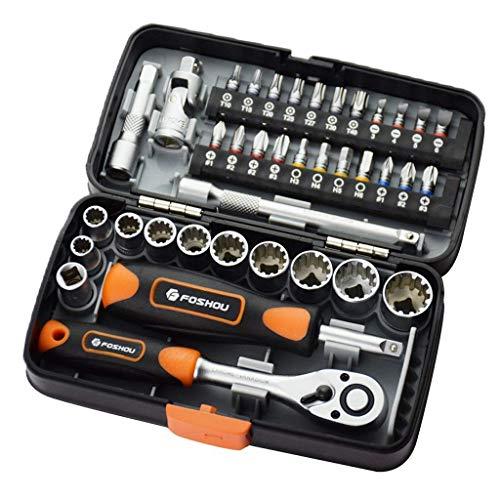 Tubayia - Juego de herramientas de 38 piezas