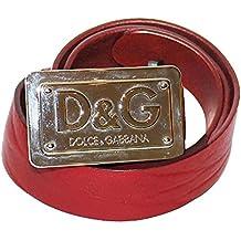 60accffb1b7f6 D G Cintura donna asta dritta Cuoio Lava DC0793E15F col. Rosso tg. 100 cm