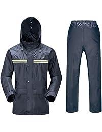 360fca36cfe4b SK Studio Homme Veste de Travail et Pantalon Combinaison Imperméable PVC