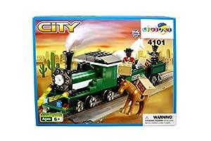 Due Esse mi007369-Construcción Tren Locomotora con Caballos