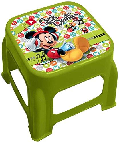 Star Licensing 45474 Disney Michey Tabouret, Multicolore, 24.5 x 24.5 x 20 cm