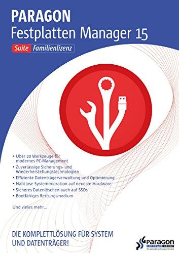 Paragon Festplatten Manager 15 Family Suite [Download]