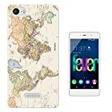 178 - Cool Fun World Map The World Look Design Wiko Fever