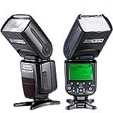 Neewer® NW982N-II i-TLL *Sincronización de alta velocidad HSS* HSS LCD Pantalla de Speedlite maestro / esclavo Flash para cámaras reflexivas de Nikon, como D4S D4 D3S D800 D700 D80 D90 D7000 D7100 D50 D40X D60 D5000 D5100 D5200 D5300 D40 D3000 D3100 D3200 D3300 de Nikon