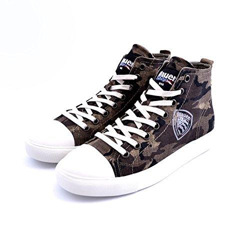 Blauer USA An.versary, Sneakers basses homme Vert
