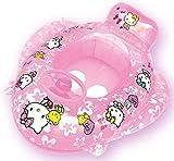 Hello Kitty Boot mit Lenkrad zum aufpusten für den Strand, Pool, Schwimmbad, für Urlaub und Sommer