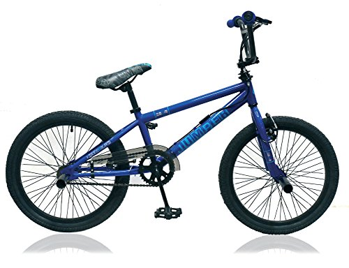 Unbekannt 20 Zoll BMX Kinder Jugend Jungen Fahrrad Rad KINDERFAHRRAD 360° Rotor Freestyle Bike Jumper BLAU - Bike Bmx 20 Zoll