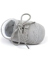 Matt Keely Scarpe da Bambino Scarpe da Bambina di Mocassino Stringate Ginnastica per Bambini 0-18 Mesi