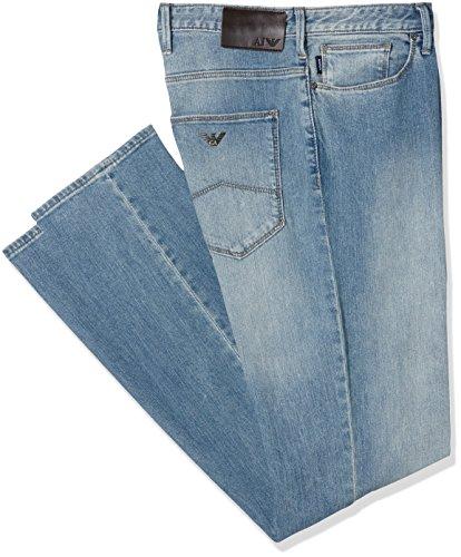 Emporio Armani 8n6j066dlqz, Pantalon Homme Bleu - Blau (DENIM INDACO 1500)