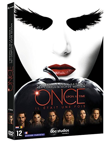 Preisvergleich Produktbild Once Upon a Time - Es war einmal ... Die komplette fünfte Staffel [6 DVDs] (EU Import mit Deutscher Sprache)