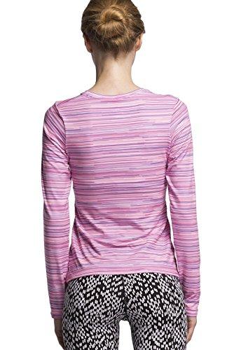 Cody Lundin®Femme yoga manches longues T-shirt, des sports et des collants de remise en forme, une série de Super Héros du film de compression Vêtements femmes Princesse Diana