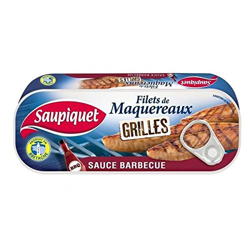 hot-sauce-grilled-mackerel-fillet-120g-barbecue-sauce-1-4-unit-price-saupiquet-filet-de-maquereaux-g