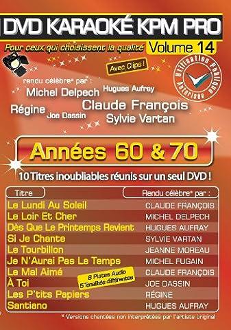 Dvd Delpech - DVD Karaoké KPM Pro Vol.14