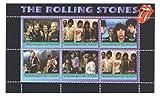 Francobolli di musica per i collezionisti - Il set Rolling Stones di 6 francobolli minifoglio da 2014 / Repubblica Chad / MNH - Stampbank - amazon.it