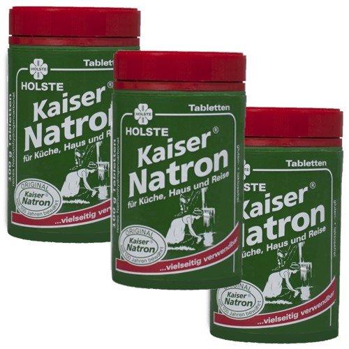 Holste Kaiser Natron Dose 100g Tabletten (3 Stück)