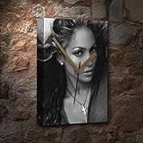 JENNIFER LOPEZ - Canvas Clock (LARGE A3 - Signed by the Artist) #js002