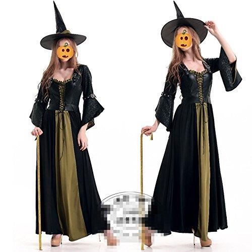 Halloween Cosplay Kostüm Hexe Königin Vampir Kleid Party Show Kostüme Festival / Halloween / (Spandex Anzug Skelett)
