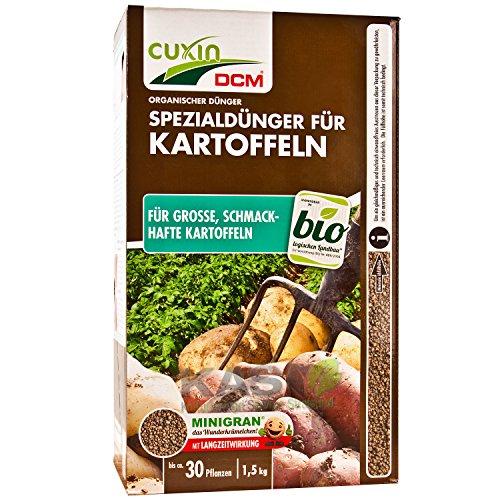Cuxin organischer Dünger Spezialdünger für Kartoffeln 1,5 kg