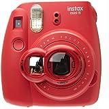 CAIUL Close Up Lens Selfie Portrait pour Appareils photo de Fujifilm Instax Mini 8 8+ 9 7s et Polaroid 300(Rouge)