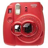 Nodartisan Close-Up Lens with Self-Portrait Mirror for Fujifilm Instax Mini 8/ 8+/ 7s (Raspberry) at amazon