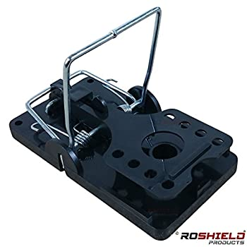 1 X Roshield External Rat Snap Trap Control Box - Green No Poison Professional Solution 4