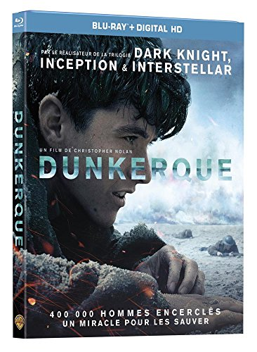 Dunkerque (Dunkirk) - Blu-Ray - Christopher Nolan (2017) [Blu-ray + Digital HD]