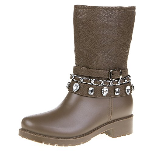 Damen Schuhe, YMS-6, STIEFEL Hellbraun