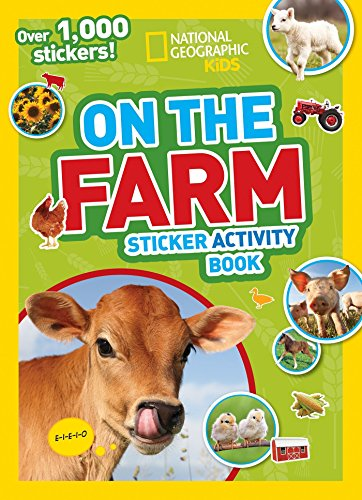 Farm Stickers (National Geographic Kids) por National Geographic Kids