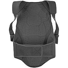 Dainese Safety Back Protector Soft Flex - Protecciones de esquís ( protectores de espalda ) , color negro / verde, talla XL