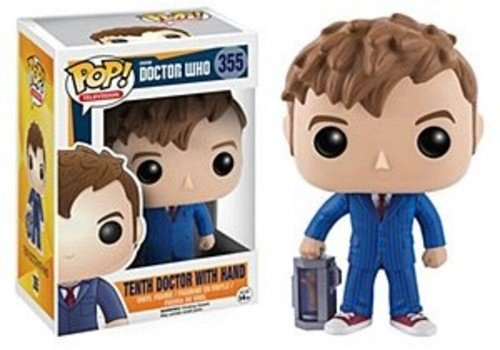 funko pop doctor who FunKo 10680 POP Vinylfigur Who: 10th Doctor w/Hand
