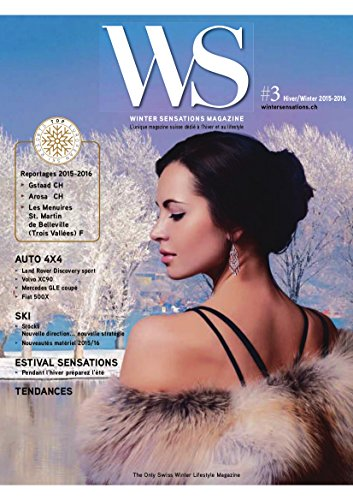 En ligne téléchargement Winter Sensations Magazine: Le magazine de l'hiver & lifestyle pdf