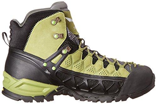 Salewa Alp Flow Mid, Chaussures de Randonnée Hautes Homme Vert (Basilico/Foliage 5533)