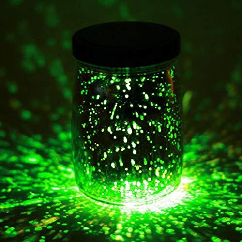 YaXuan 1Pcs Solar Creative Night Light, Glow In The Dark Light Party DIY Bright Wishing Bottle Decorative Lampen,3 (Creative Motion-lampe)