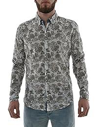 chemise lee cooper 005390 deus gris