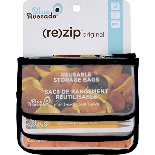 blue-avocado-rezip-snack-reusable-storage-bags-black-solid-3-pack