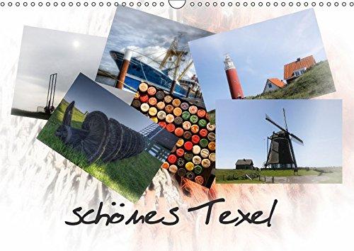schönes Texel (Wandkalender 2018 DIN A3 quer): Impressionen von der Sonneninsel Texel (Monatskalender, 14 Seiten ) (CALVENDO Orte) [Kalender] [Apr 01, ... - D.Elskamp Photographie & Photodesign, Danny