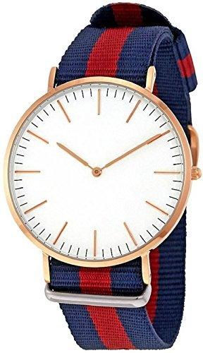 Women\'s Watches (RR-Dw-Blue-Red-Blue)
