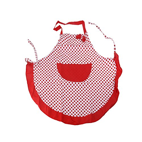 Pixnor Stile vintage grembiule Shabby Chic pois floreale anni cinquanta Ditsy retrò Sugarcraft