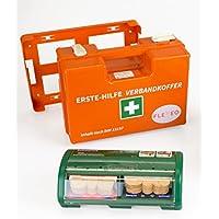 FLEXEO-Erste-Hilfe-Koffer-Set DIN 13 157 (inkl. gefülltem Salvequick Pflasterspender) preisvergleich bei billige-tabletten.eu